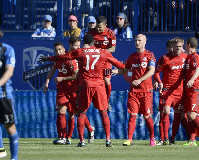 ... Toronto FC. As long as the team wins, he doesn't care if he gets