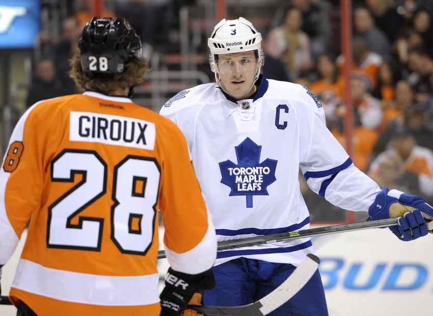 f2b97344379 Toronto Maple Leafs Game Preview  Dion Phaneuf Expected to Return ...