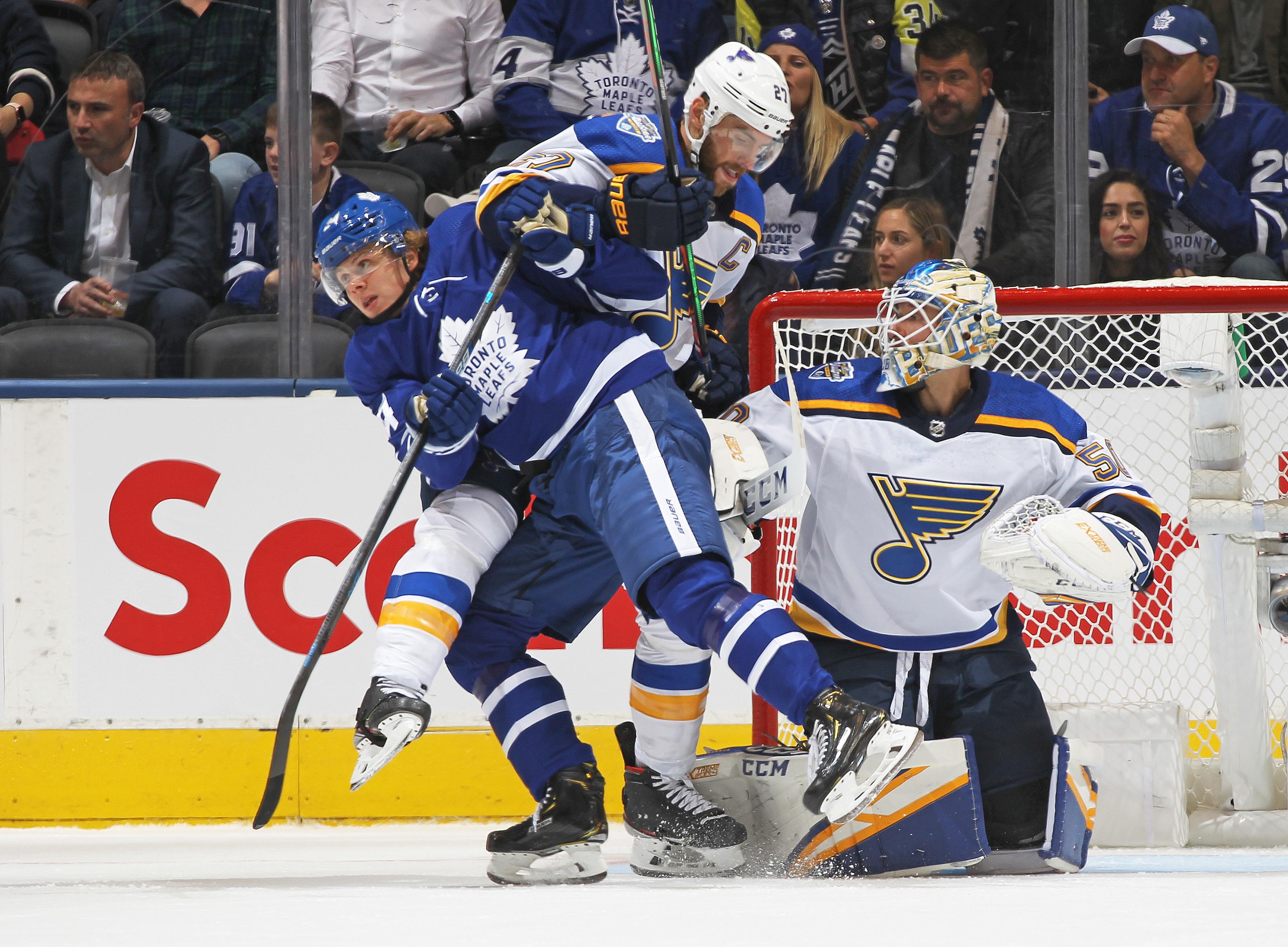 Toronto Maple Leafs Alex Pietrangelo Trade Rumours Not Going Away