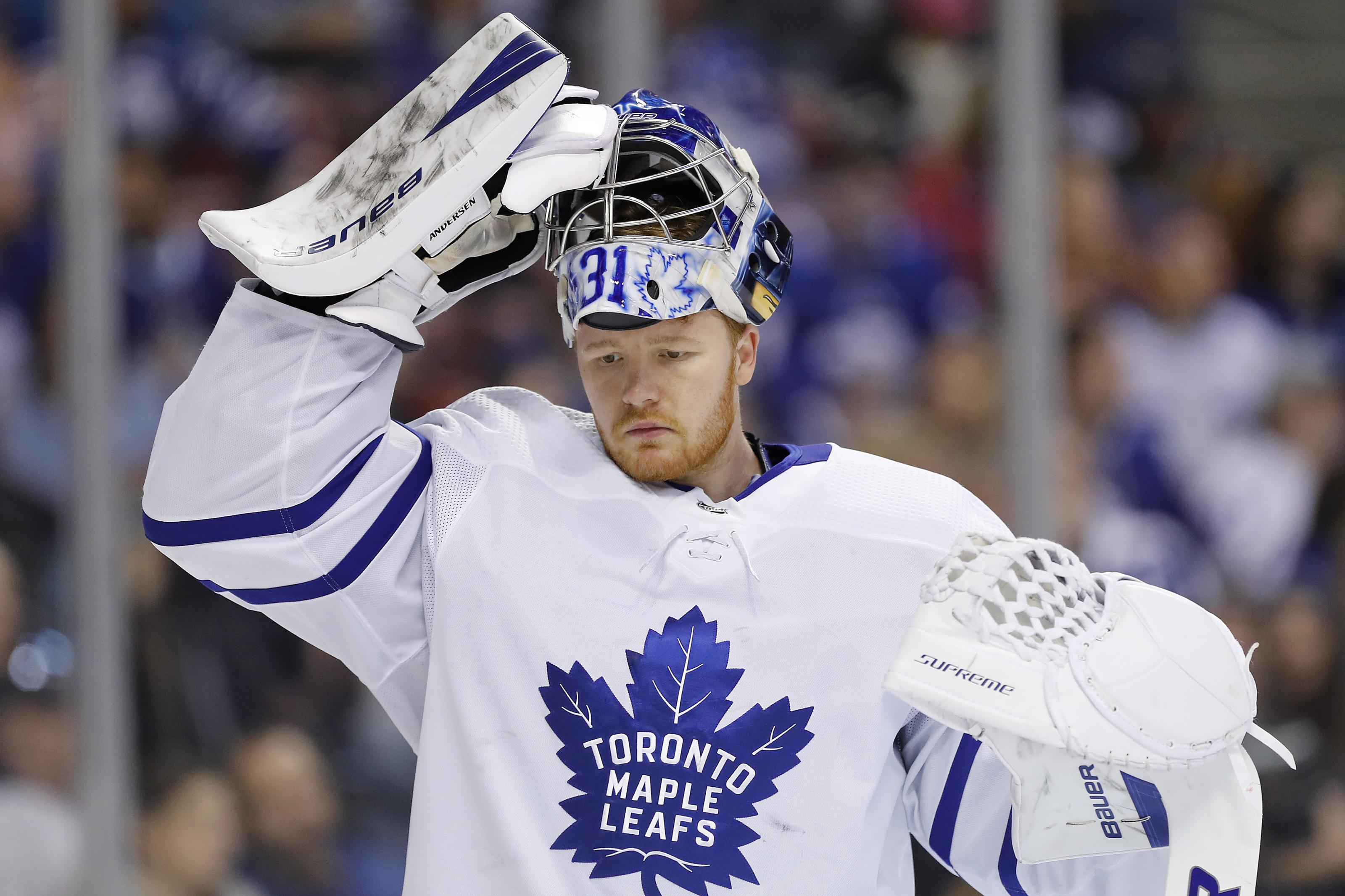 Toronto Maple Leafs Trade Rumours Andersen Johnsson Kerfoot On Block